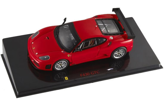 HOT WHEELS ELITE FERRARI F430 GTC - ROUGE