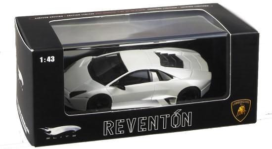 HOT WHEELS ELITE LAMBORGHINI REVENTON - BLANC PERLE