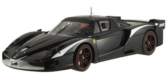 HOT WHEELS ELITE FERRARI FXX EVOLUZIONE - BLACK