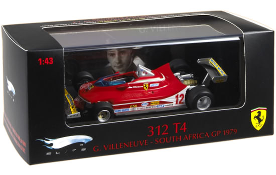 1979 FERRARI 312 T4 SOUTH AFRICA GP – G. VILLENEUVE