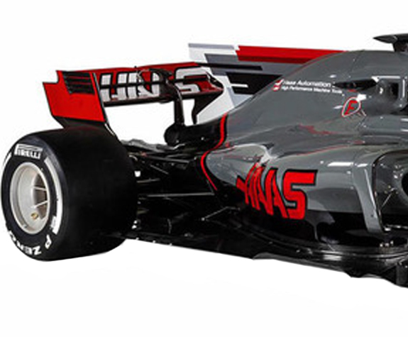 MINICHAMPS 1/43 2017 HAAS F1 TEAM FERRARI VF17 - ROMAIN GROSJEAN