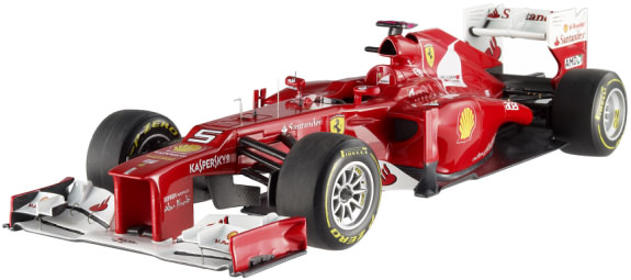 HOT WHEELS ELITE 2012 1/18 FERRARI F2012 – FERNANDO ALONSO