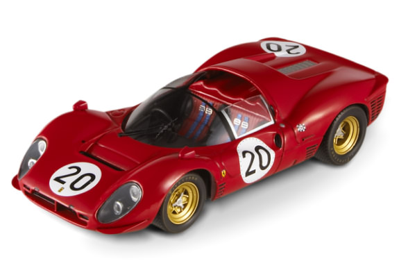 HOT WHEELS ELITE FERRARI 330 P3/4 SPYDER #20 LEMANS 1967 - #20