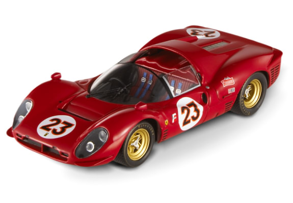 HOT WHEELS ELITE FERRARI 330 P4 LEMANS 1967 - #23