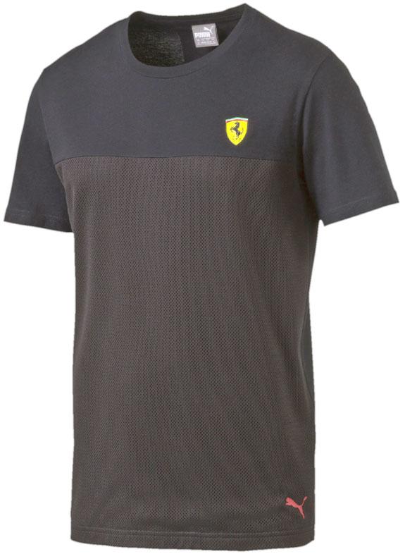 T Noir Ferrari Shirt Scuderia Petit Sf 761836 Eccuson 2016 Puma tTE8ww