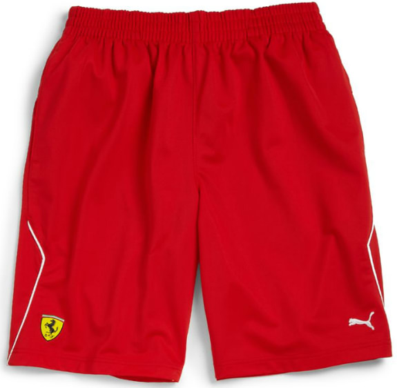 puma ferrari shorts red