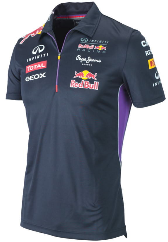Authentic pepe jeans infiniti red bull racing f1 team 2014 for Red bull logo shirt