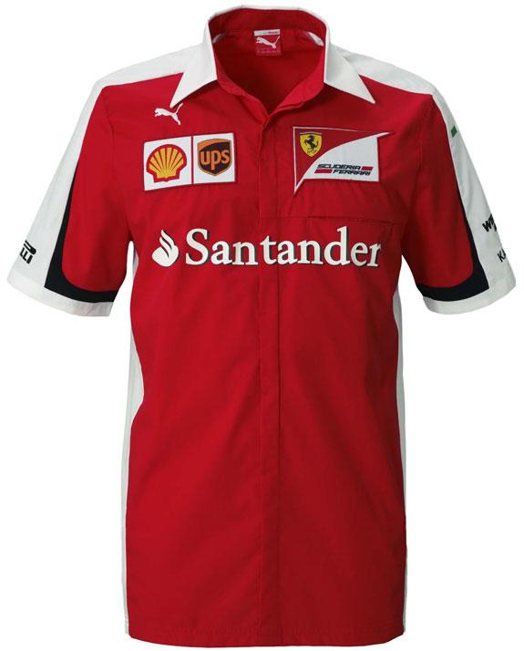 2015 Puma 0171 Scuderia Ferrari Team Shirt761670 99Can pzGUVqSM
