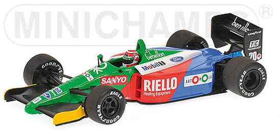 1 43 minichamps 1990 benetton b189b usa gp nelson piquet for Benetton usa online shop