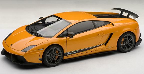 1 18 Lamborghini Gallardo Lp570 4 Superleggera Orange 74656