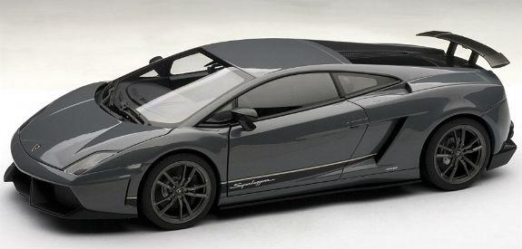 1 18 Lamborghini Gallardo Lp570 4 Superleggera Grey 74657