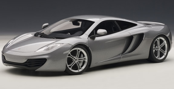 autoart 1 18 mclaren mp4 12c silver autoart 1 18 mclaren mp4 12c silver 76007 76007 244. Black Bedroom Furniture Sets. Home Design Ideas
