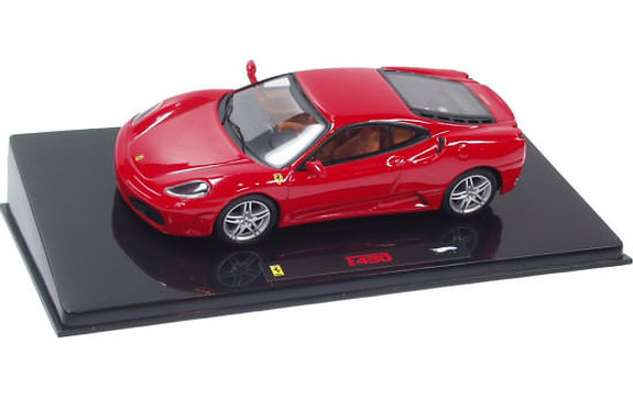hot wheels elite 1 43 ferrari f430 red p9941 can grand prix miniatures welcome. Black Bedroom Furniture Sets. Home Design Ideas